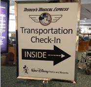 Disney's Magical Express Airport Check-in