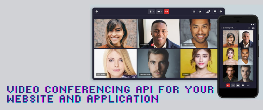 Cover image for Top 10 Video Calling & Conferencing  API for Website and App | 2021