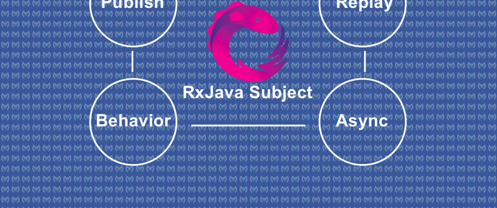 Cover image for Understanding RxJava Subject — Publish, Replay, Behavior and Async Subject