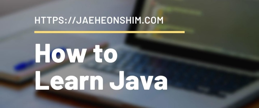 Cover image for How to Learn Java