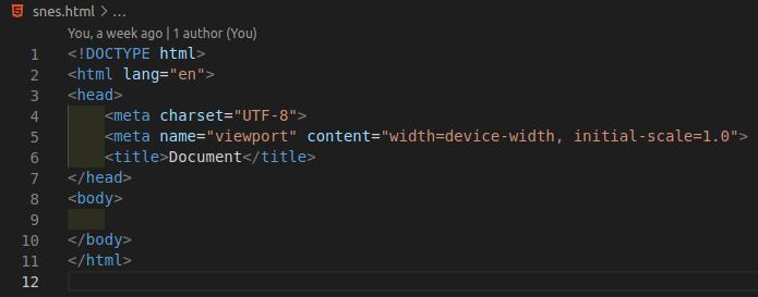 arquivo html sem as modificações