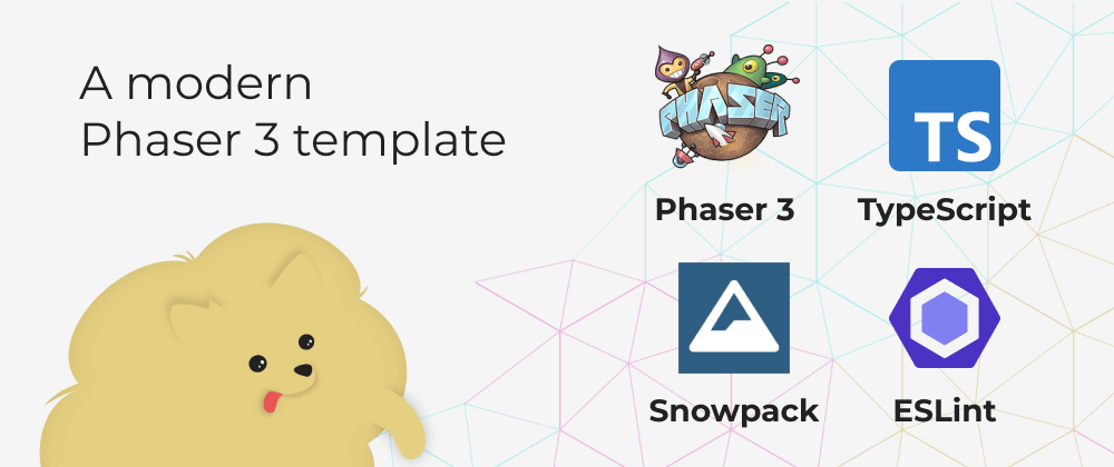 Cover image for Create games using TypeScript, Snowpack, and ESLint with this template