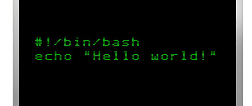 Cover image for Day-9: Bash Scripting - #1