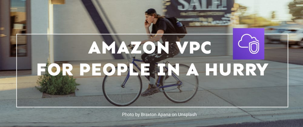 Cover image for Amazon VPC for People in a Hurry