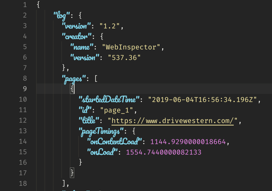 JSON looks chaotic with this font