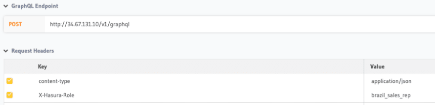 Return to the GraphQL tab and set the following _Keys_ distributed sql yugabytedb tips tricks