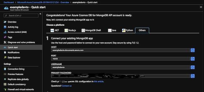 Uploading your JSON data to Azure Cosmos DB for MongoDB API - DEV