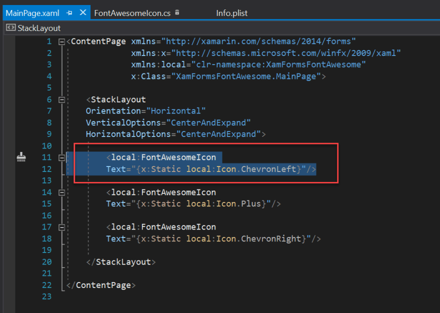 Using Font Awesome in Xamarin Forms - DEV Community 👩 💻👨 💻