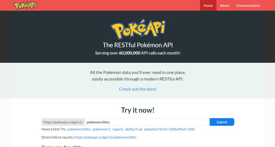 Manera de llamar a una API Rest con JavaScript PokéApi