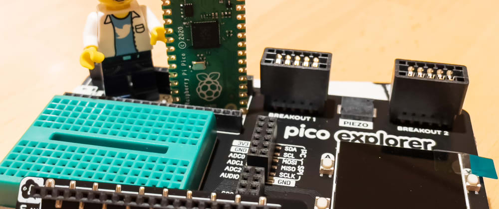 Cover image for Raspberry Pi Pico - getting excited about the smallest things!