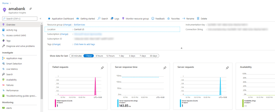 Application Insights for Bot Framework Composer
