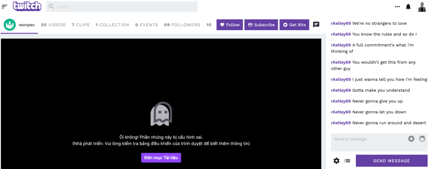 Twitch Redesign Mockup