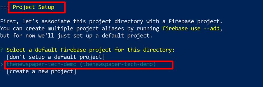 Firebase Project Set Up<br>