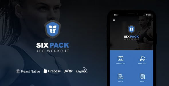 SixPack – Complete React Native Fitness App + Backend