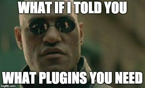 What does all the plugins do