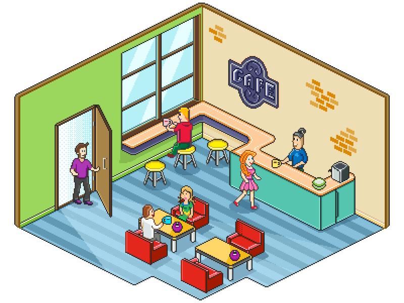 pixel-cafe