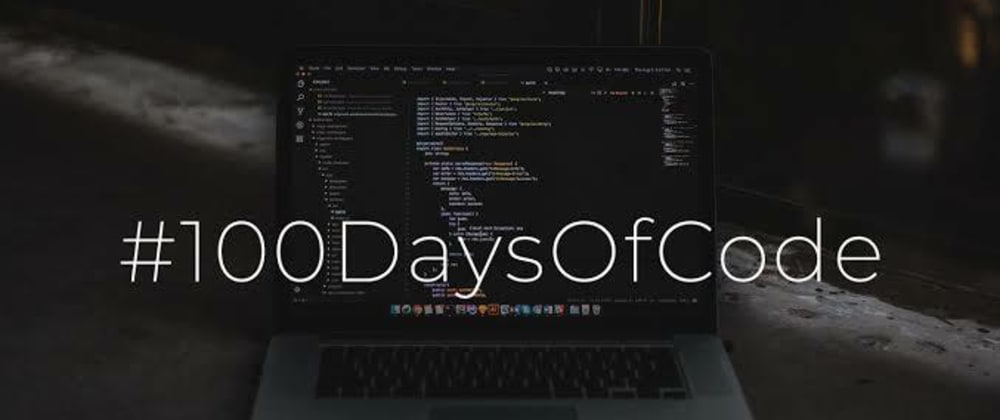 Cover image for My 100DaysofCode