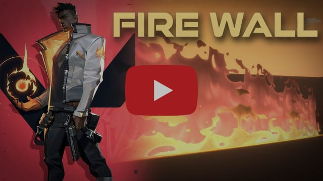 Valorant Phoenix Fire Wall Remake in Unity