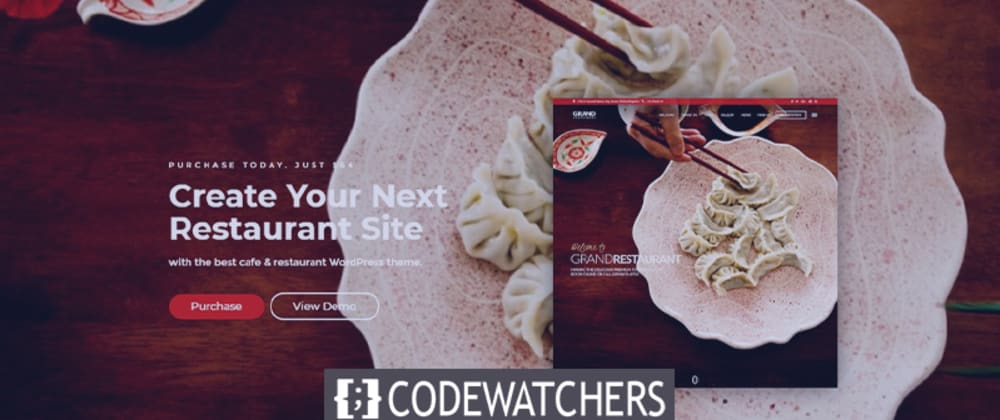 Cover image for Review: Grand Restaurant WordPress Theme