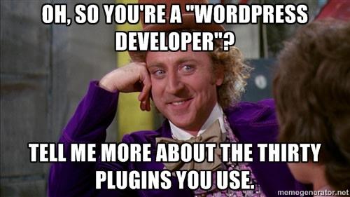 Wordpress Plugins Meme