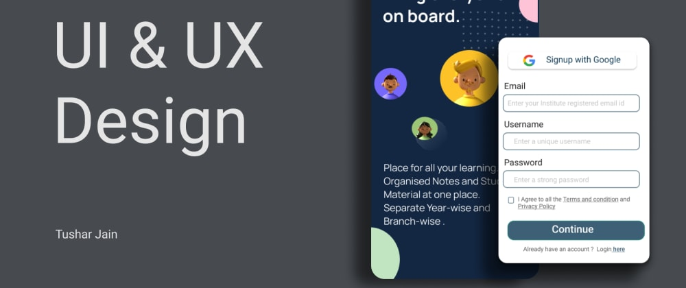UI/UX: How did I get started