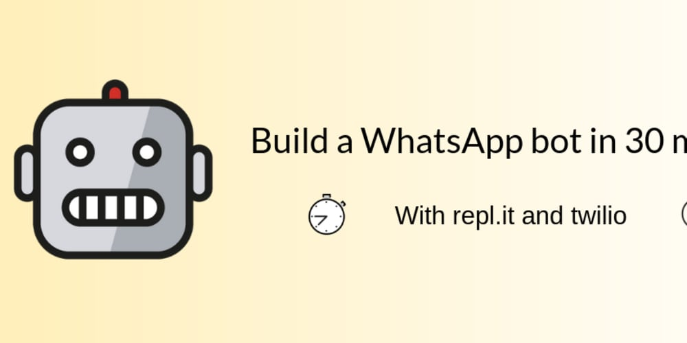 Build a WhatsApp Bot, fast ⚡ - DEV Community 👩 💻👨 💻