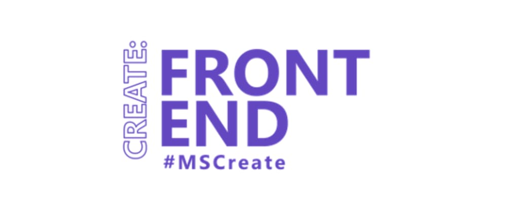 Cover image for Create:Frontend - Let's talk about static web apps!
