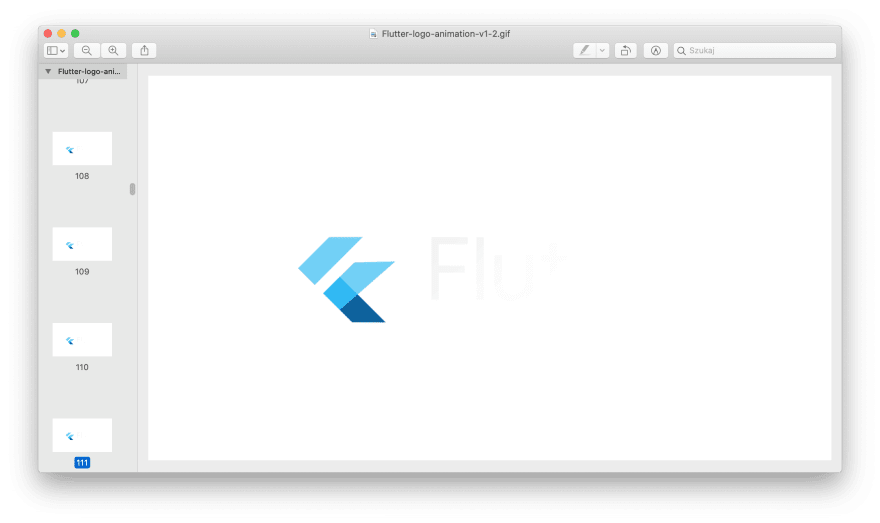 GIF preview in macOS Image Preview