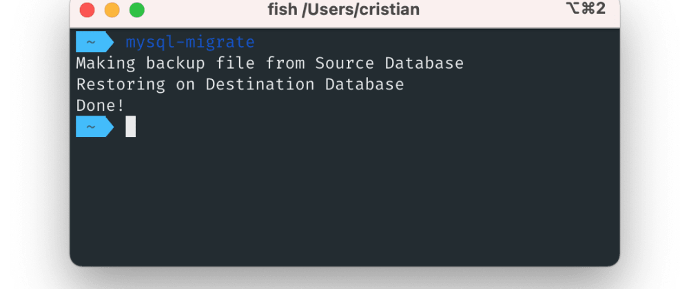 Cover image for How to migrate a  MySQL Database from DigitalOcean to AWS RDS