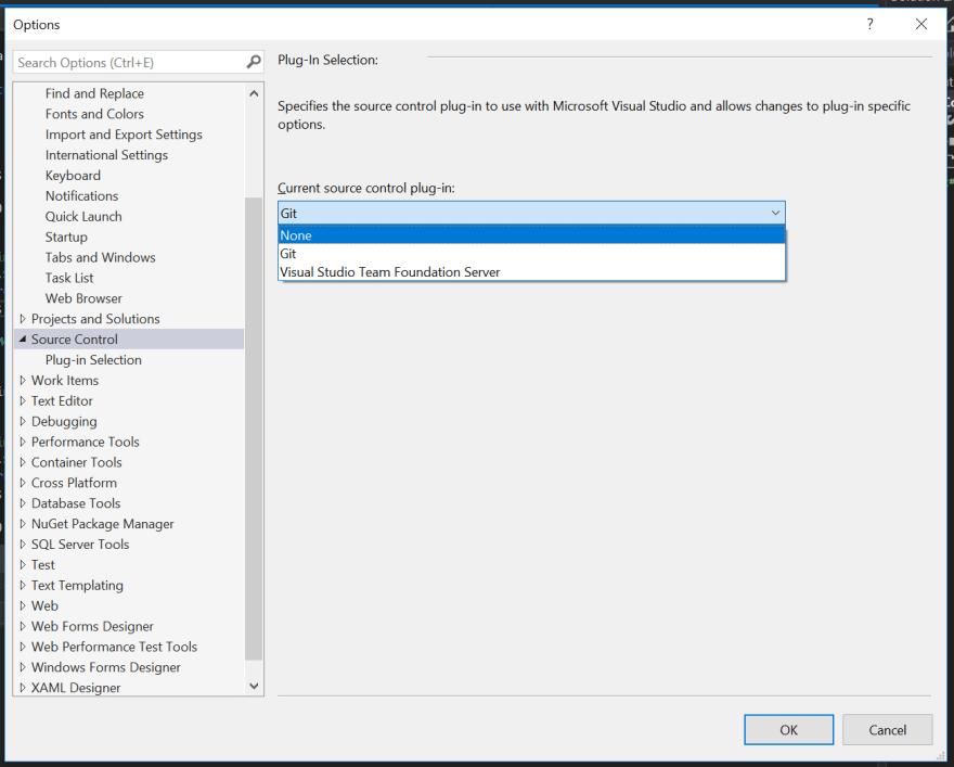 Disabling Source Control in Visual Studio