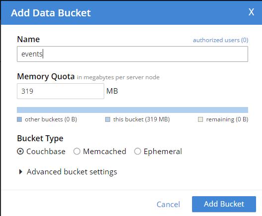 Add Bucket