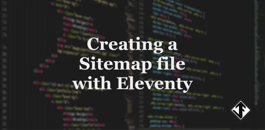 Creating a Sitemap file with Eleventy