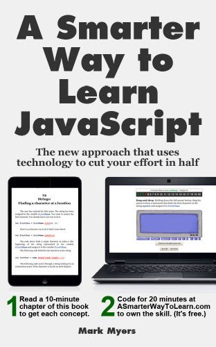 A Smarter Way to Learn JavaScript book cover