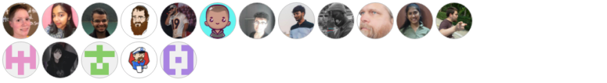 image of contributors generated by https://contributors-img.web.app/ pulling from https://github.com/VickiLanger/code-questions-bot/graphs/contributors