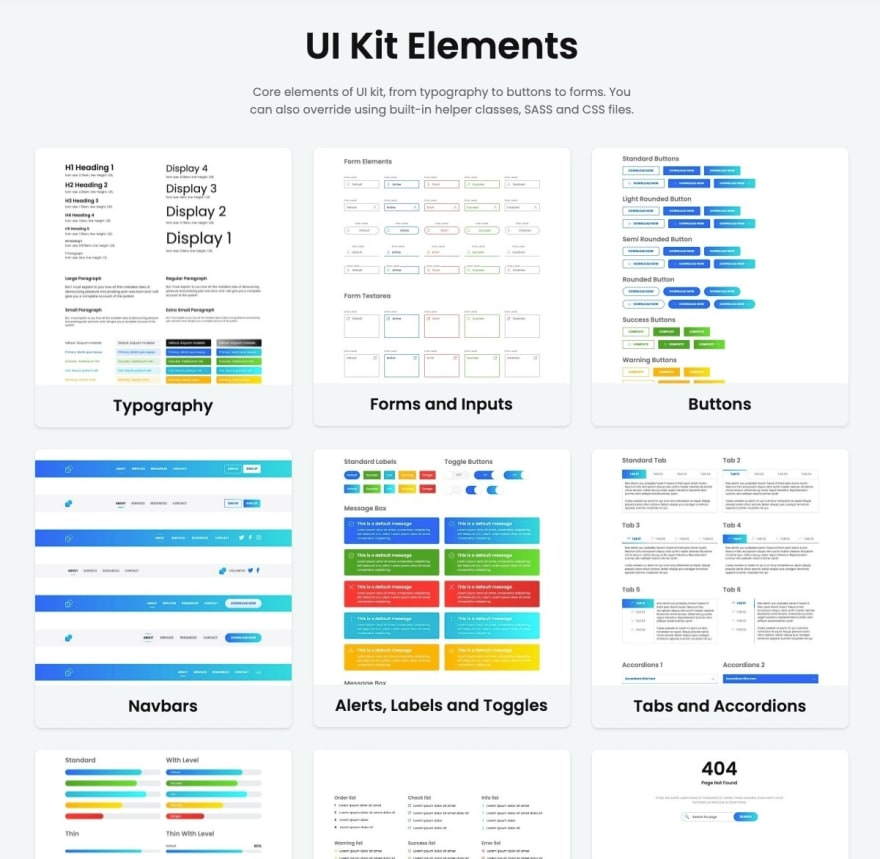 UI Kit Elements