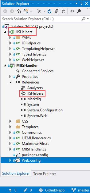 Un proyecto compartido y otro qu elo referencia en Visual Studio