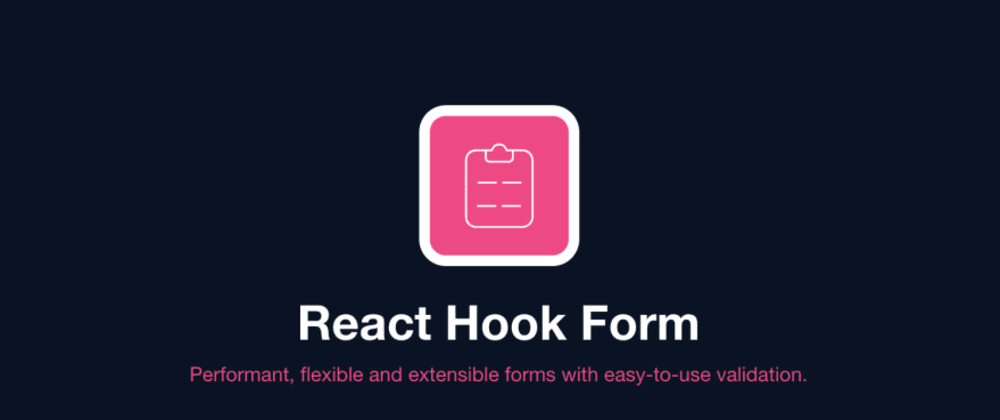 Cover image for What's new in React Hook Form's resolvers V2