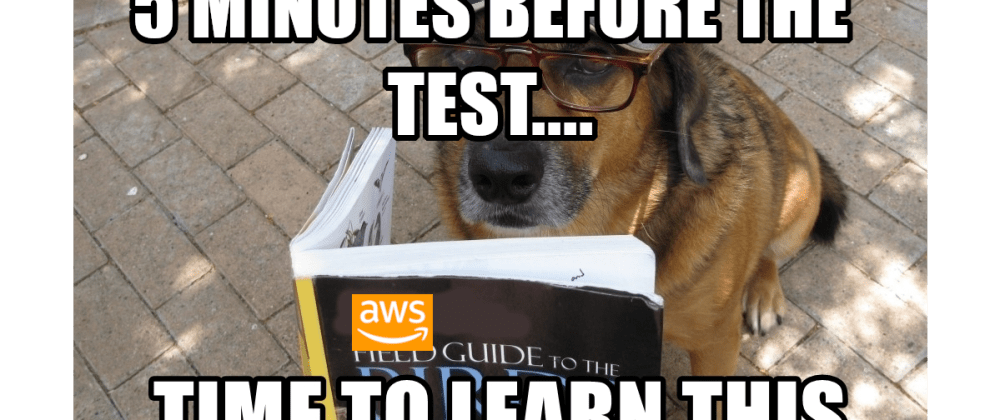Cover image for Is it possible to PASS an AWS Exam without studying?