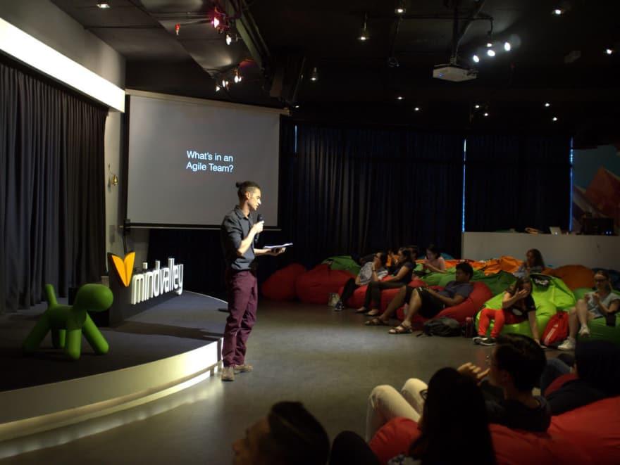 My first agile talk