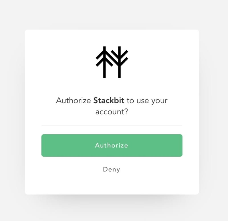Connect Forestry with Stackbit