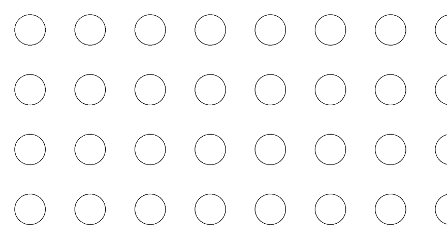 Basic repeating bubble pattern in CSS