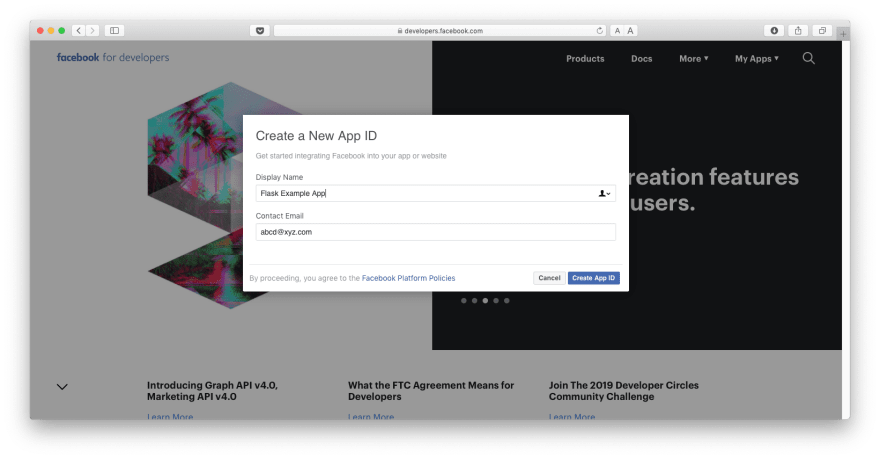 How to add Social Login to a Flask app - DEV Community