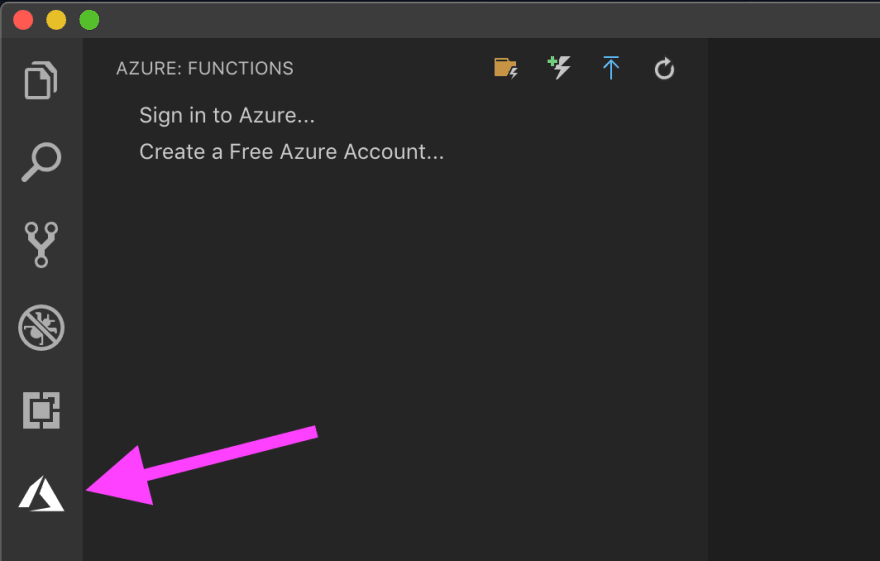 VSCode Extension - Azure Functions