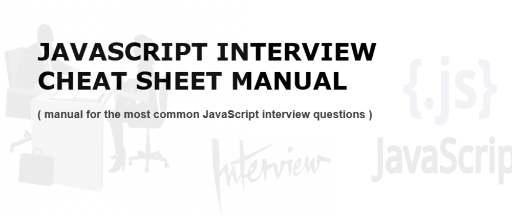Cover image for How to Pass a JavaScript Interview