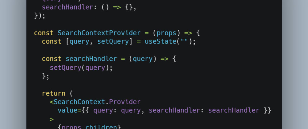 Cover image for Using React Context API Like a Pro