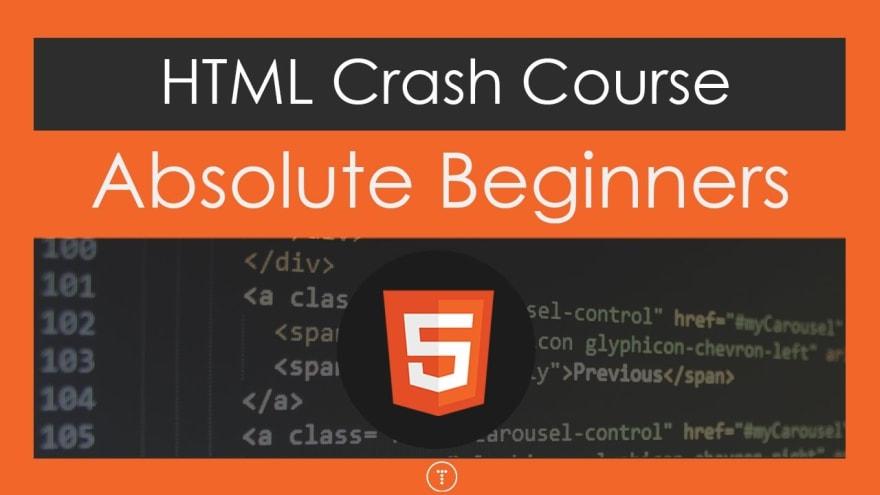 HTML by Traversy Media