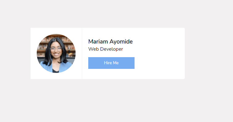 A contact page