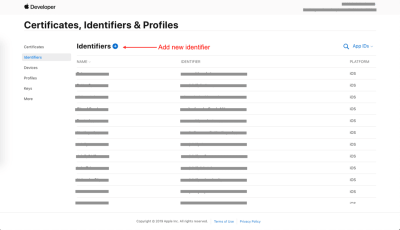 Apple developer account shows you info about all Certificates, profiles, devices etc