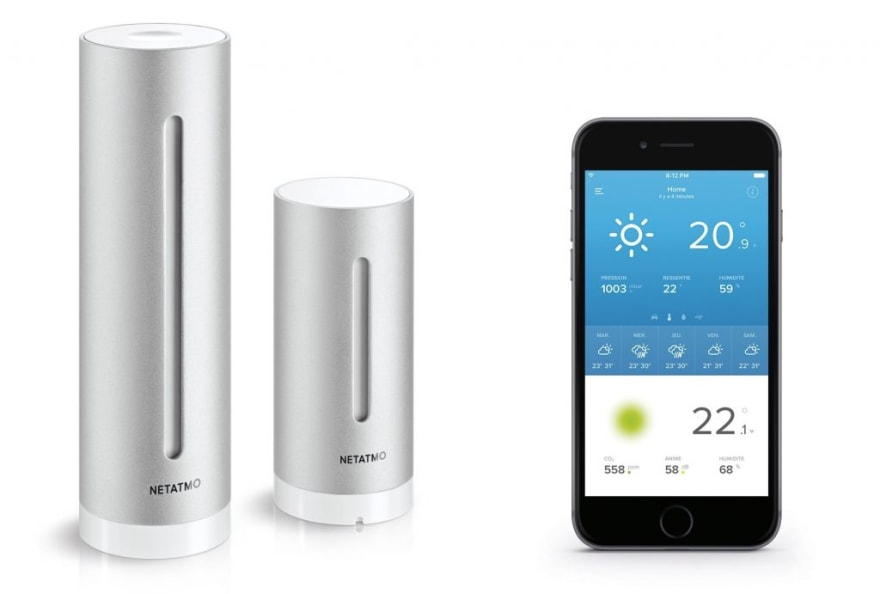 Netatmo Weather Station and iOS app