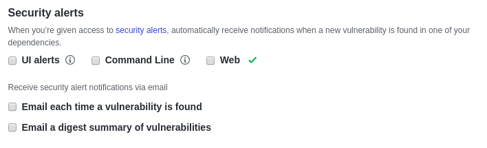 Why I dislike GitHub security alerts? (and how to disable
